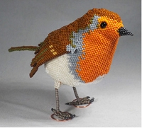 British (European) Robin 3-D pattern